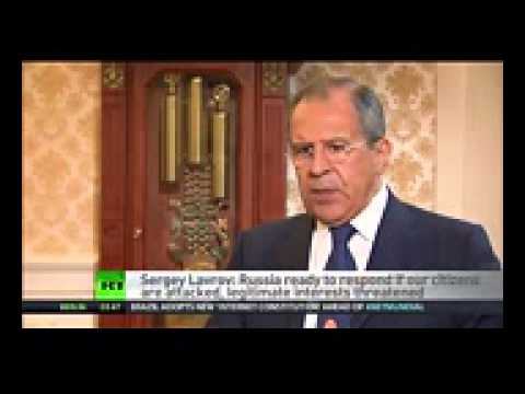Lavrov to RT Americans are running the show in Ukraine   YouTube