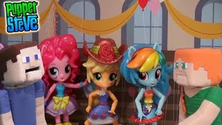 My Little Pony Equestria Girls Minis School Dance Collection 6 set Unboxing Review Puppet Alex