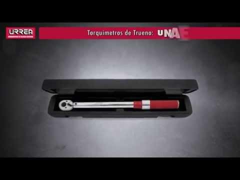 """Torquímetros de Trueno """"Una escala"""" URREA URREA México thumbnail"""