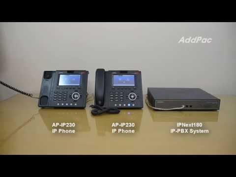 AddPac IP-PBX Paging Service Demonstration  | AddPac