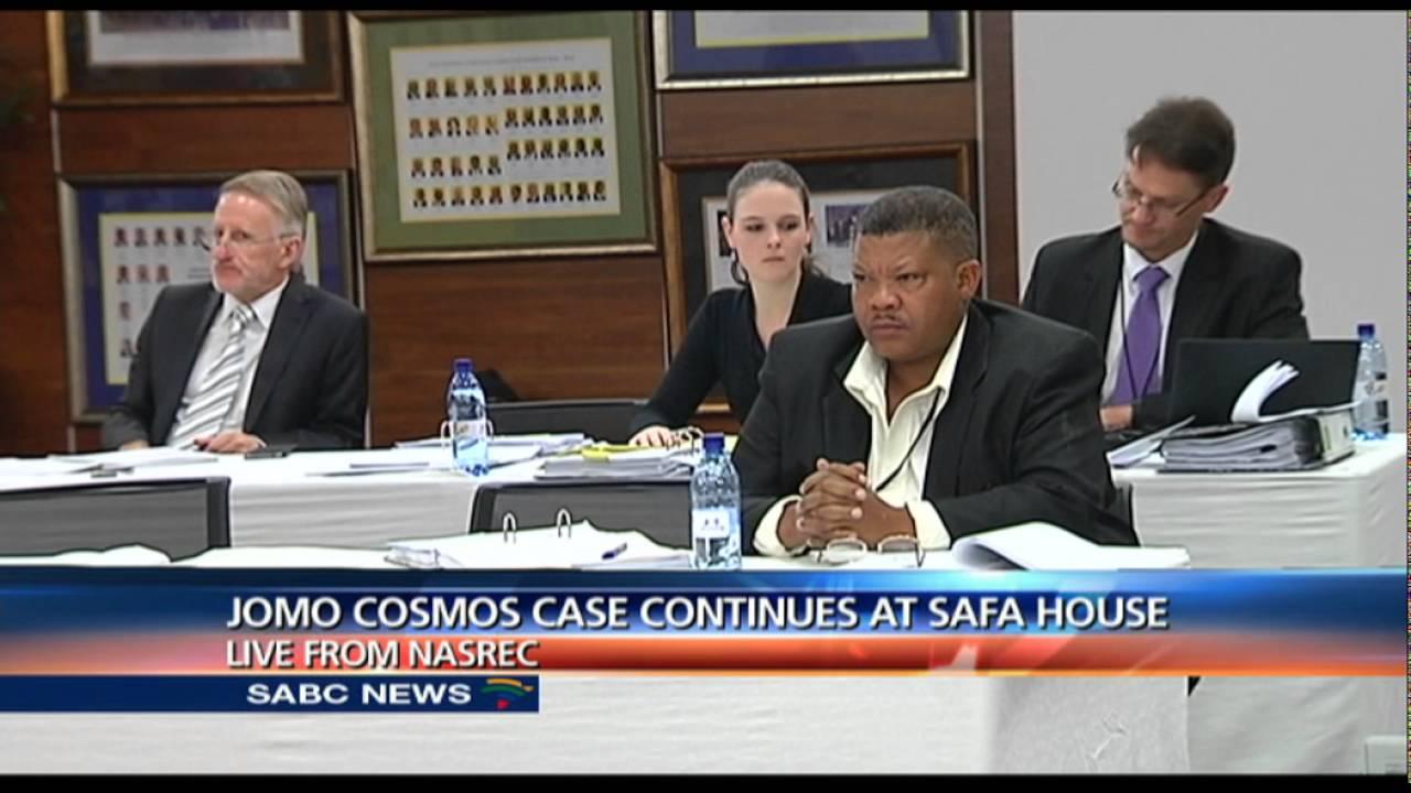 The case involving Jomo Cosmos and SAFA underway