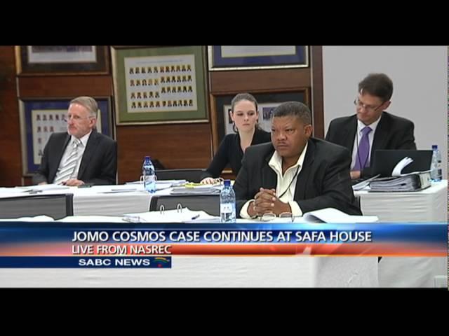 The case involving Jomo Cosmos and SAFA underway: Vilile Mbuli reports