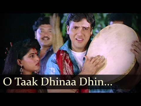 O Taak Dhinaa Dhin - Govinda - Bhanu Priya - Bhabhi - Bollywood Songs - Anu Malik