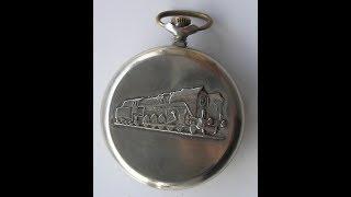 Часы Молния Паровоз СССР -  WATCH MOLNIA Locomotive