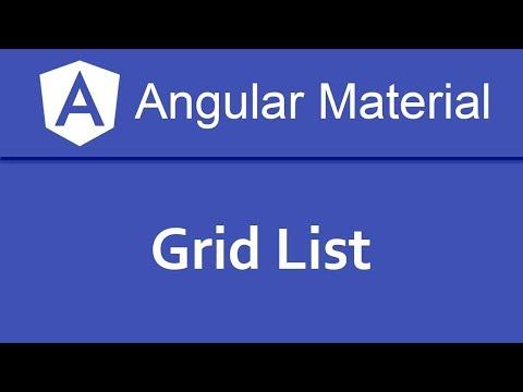 Angular Material Tutorial in Hindi #11 Grid List thumbnail