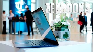ASUS Zenbook 3, primeras impresiones #IFA16