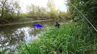 Рыбалка на щуку на малой реке в сентябре 2019.