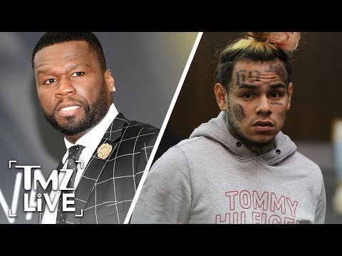 Gunfire on 50 Cent and Tekashi69s Music  Set  TMZ