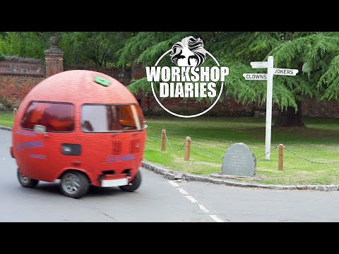 my driving orange is back on the road! (edd china's workshop diaries 23)