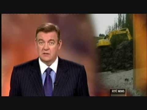 Windfarm Landslide Drumkeerin Co.Leitrim