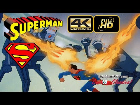 SUPERMAN CARTOON: The Mechanical Monsters...
