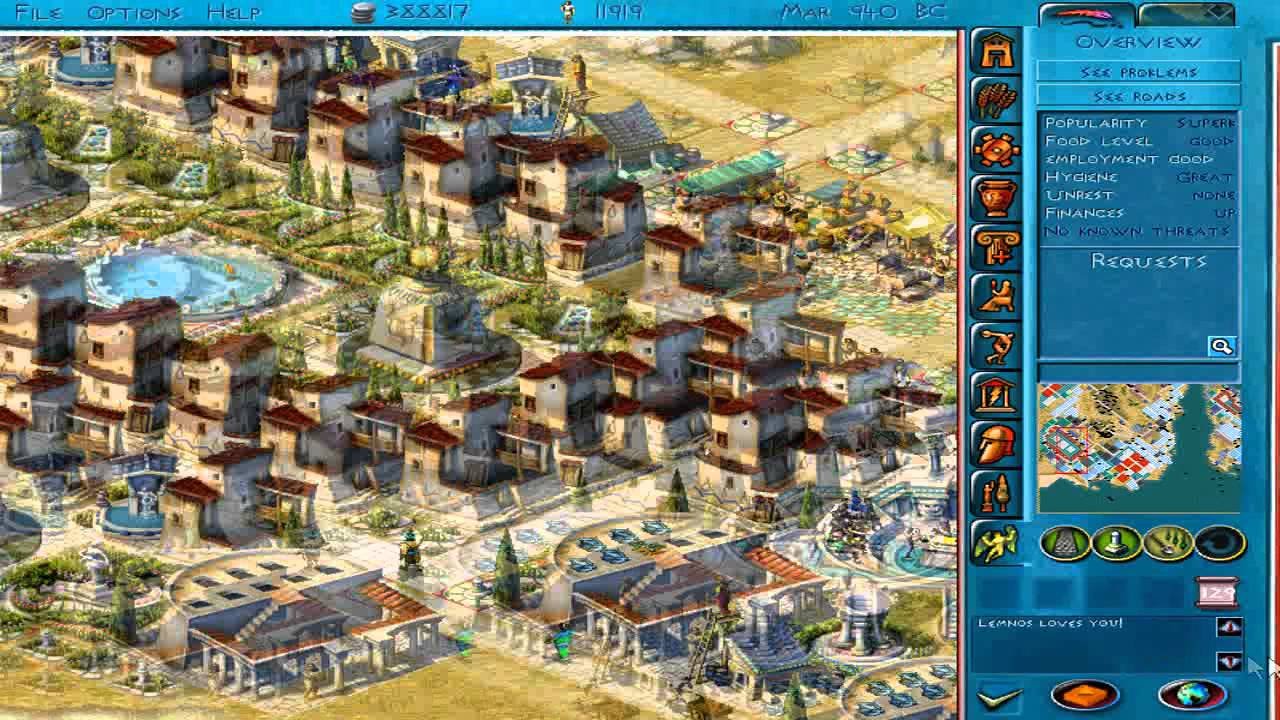 Zeus - My 3 Biggest cities
