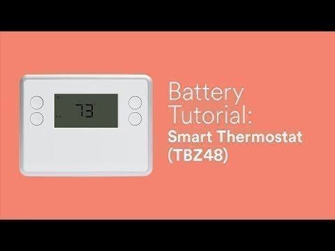 battery tutorial smart thermostat (tbz48) 5 Wire Thermostat Wiring battery tutorial smart thermostat (tbz48)