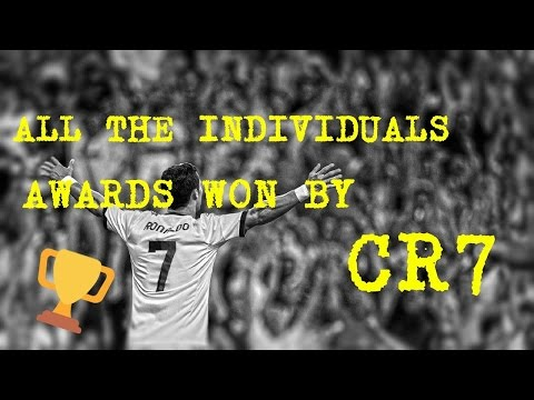 All the individuals Awards won by Cristiano Ronaldo