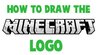 How to Draw the Minecraft Logo