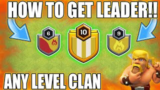 GET LEADERSHIP EASILY 😮 || BEST TRICK 💪 2018 || CLASH OF CLANS