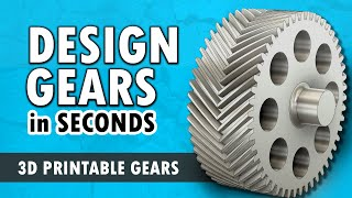 How to Create Gears in Fusion 360