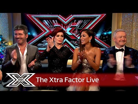 Simon, Sharon, Louis And Nicole Chat To Matt And Rylan! | The Xtra Factor Live 2016