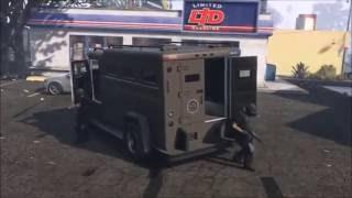 GTA 5 Online - S.W.A.T. - Rockstar Editor - Cops Movie - Short Film!