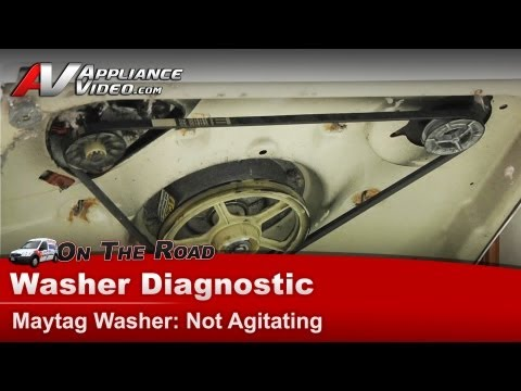 Maytag Washer Diagnostic - Not agitating - MAV6451AWW