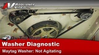 Washer Diagnostic & Repair Not agitating - Maytag, Whirlpool, Roper, Kenmore, Sears, MAV6451AWW