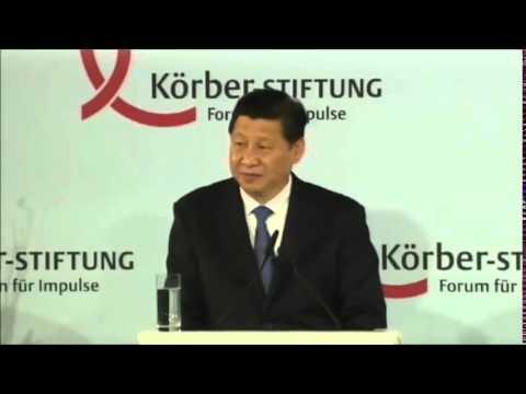Xi Jinping 2014 in Berlin - 中文