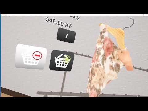 Na návštěvě ve virtuálním obchodě - nakupování oblečení