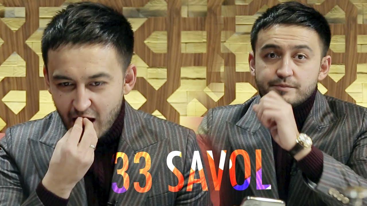 33 savol - Davron Kabulov bilan daxshatli javoblar (tez kunda)
