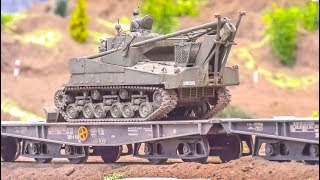 STUNNING Military RC Trucks! Tanks! Train! Heavy Machines!