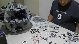 Lego Star Wars - Death Star Build - Time-lapse - Phase 11