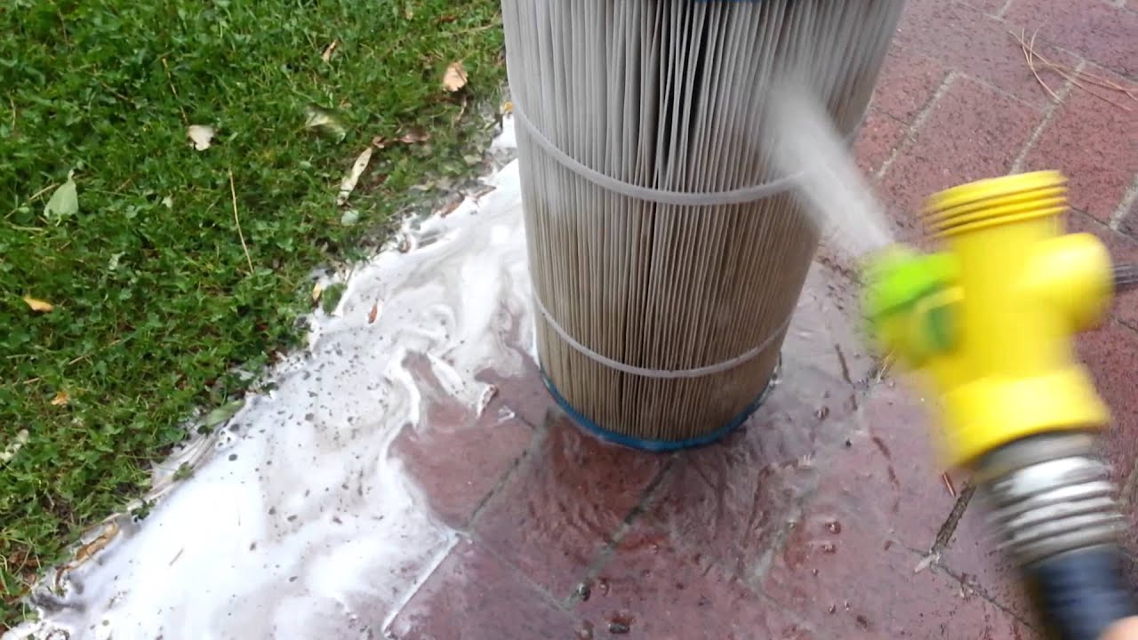 how to clean hot tub filters with vinegar