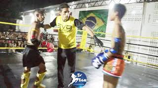 TV THAI   Gustavo ( Ferreira Asa Team ) vs Jonathan ( Show Thai ) Evo Fight Muay Thai