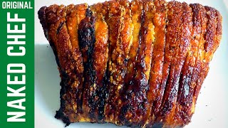 Christmas Roasted Pork Loin & perfect Crackling How to make recipe