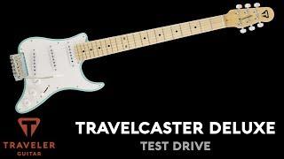 Traveler Guitar Travelcaster Deluxe Test Drive