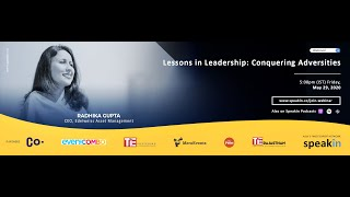 "#ManagingChange with Radhika Gupta, CEO, Edelweiss Asset Management - ""Lessons in Leadership"""