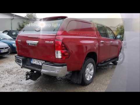 Toyota Hilux 2016 Canopy Work & Toyota Hilux 2016 Canopy Work - YouTube