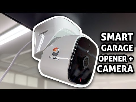 Smart Garage Door Opener W/ Camera: Alcidae Garager 2 Vs MyQ Hub