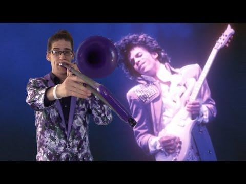 Prince  Purple Rain: Trombone Arrangement on a Purple pBone
