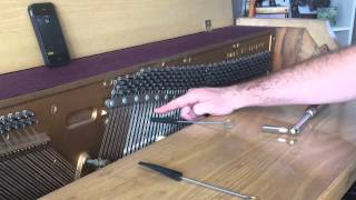DIY piano tuning / tune your own piano - part 1 of 2 - tools, tuning middle C - DIY Music
