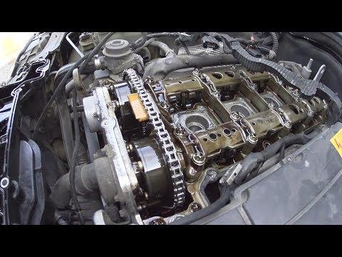 Проверка меток ГРМ на m271 моторе.