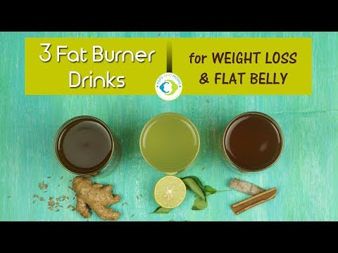 3 Fat Burner Drinks for Weight Loss & Flat Belly | Ayurvedic Remedies to Reduce Belly Fat
