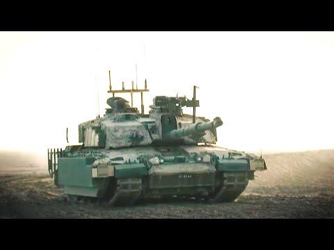 BAE Systems - Challenger 2 Mark 2 Main Battle Tank Field Testing [1080p]