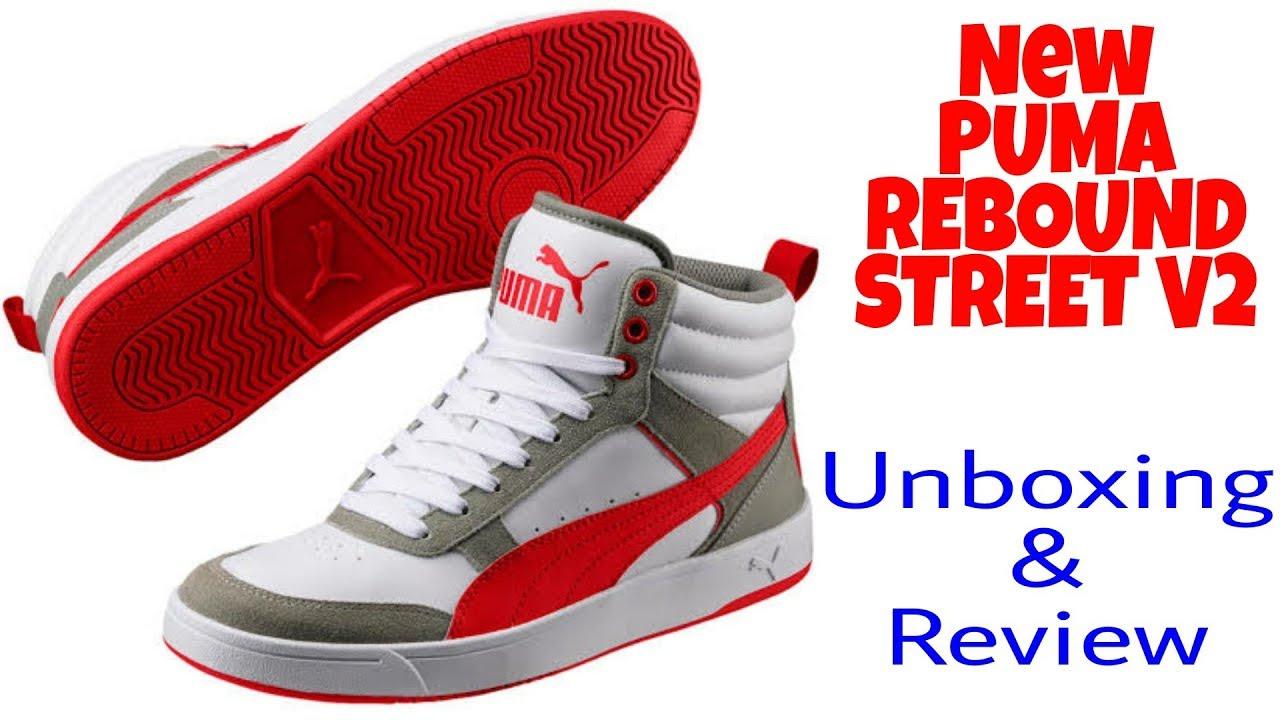 New Puma Rebound Street V2 sneakers