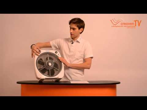 Westinghouse Boxventilator / Bodenventilator Taifun - creoven.tv Produktvideo