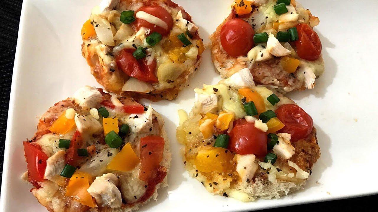 1 Minute Microwave Mini Bread Pizza Recipe Kids Lunch Box Super Easy