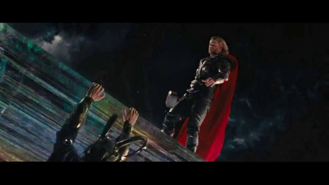 Thor vs Loki - The Tesseract (The Avengers & Marvel ...