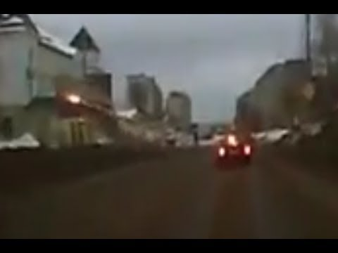 Car Takes Off