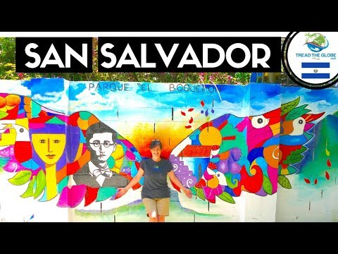 El Boqueron SAN SALVADOR (2019)   El Salvador Travel Series