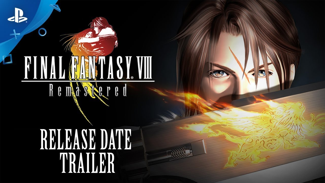 Final Fantasy Viii Remastered Official Release Date Reveal