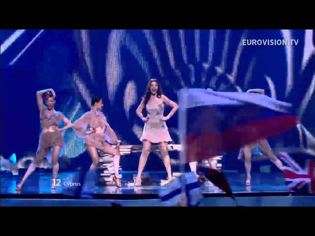 Ivi Adamou - La La Love - Live - 2012 Eurovision Song Contest Semi Final 1